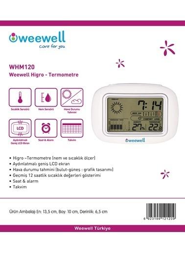 Weewell Higro-termometre Renkli